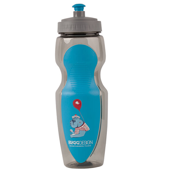 Picture of Biggdesign Mr Allrightman Blue Water Bottle