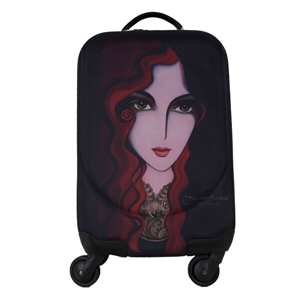 Picture of  Biggdesign 'Portrait' Artist Designed Canvas Suitcase, 18""