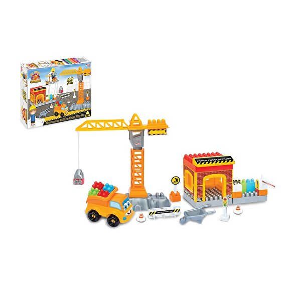 Picture of  Dede Constructıon Blocks, 43-Pieces