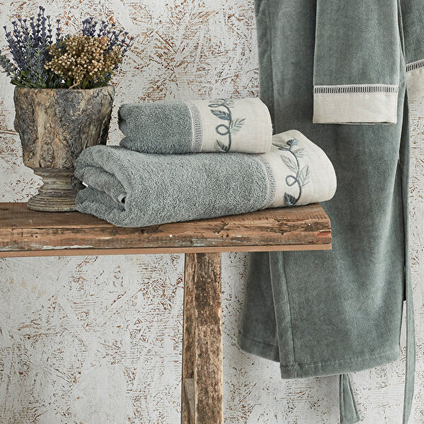 Picture of Ecocotton Hira Green, 100% Original Turkish Cotton Towel, 50*90 Cm