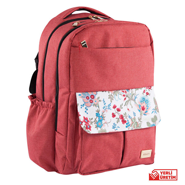 Picture of  Kraft Gardenia Back Pack - Burgundy