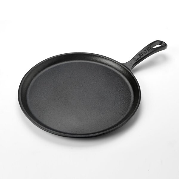 Picture of  Lava Cast Iron Casserole 26 cm Black Crep, Pizza Pan