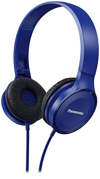 Picture of  Panasonic RP-HF100ME-A Overhead Stereo Headphones - Blue