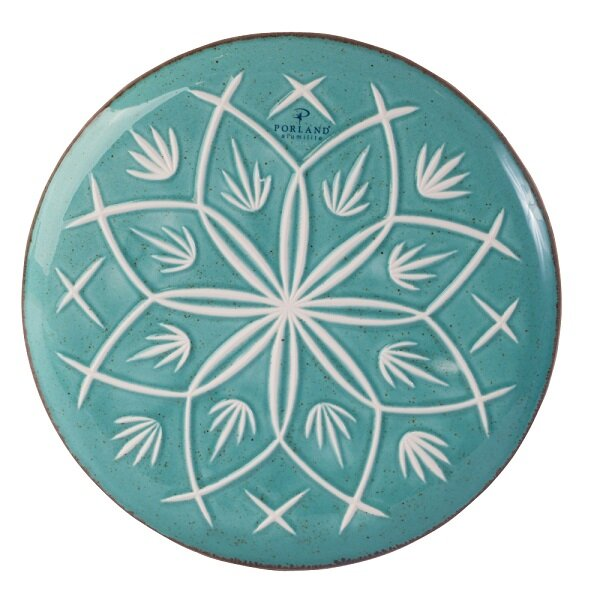 Picture of Porland Turquoise Flat Plate, 21 Cm