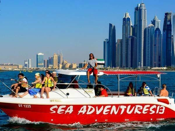 Picture of Sky and Sea Adventures Boat Cruise Private Basis 1 Hr 30 Min