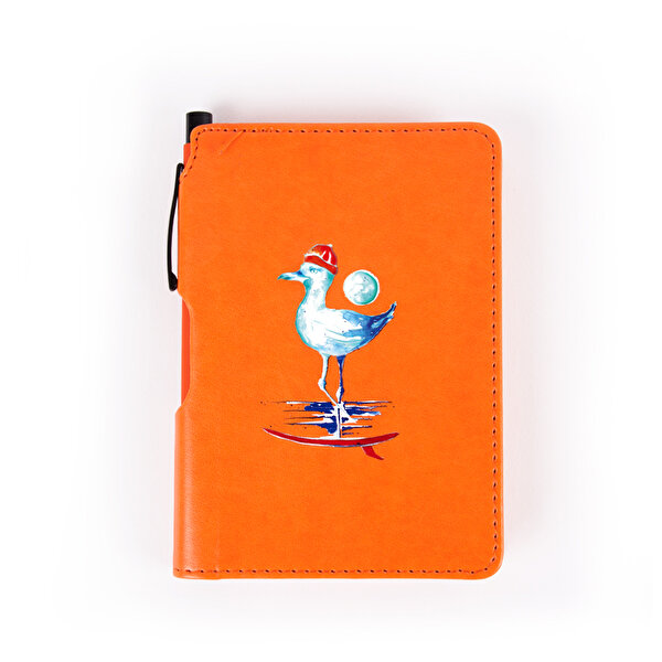 Picture of Biggdesign Sailor Seagull Notebook 9x14