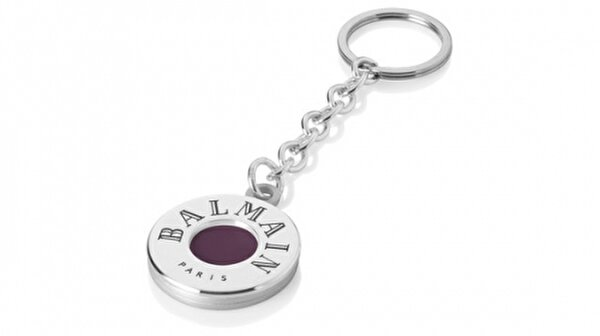 Picture of BALMAIN 11806300deauville Keychain , White