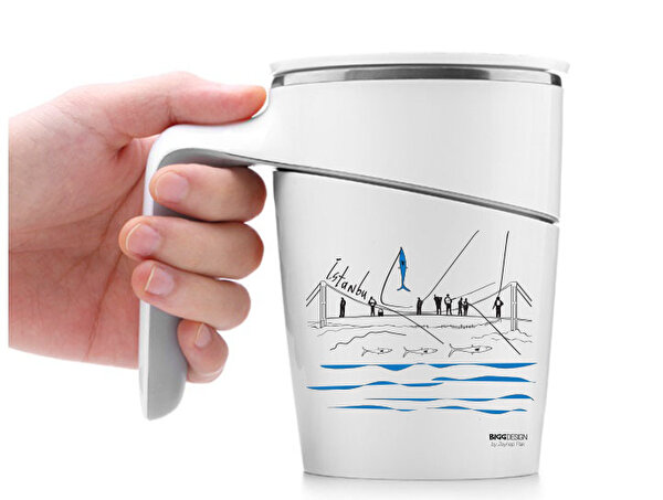Picture of BiggDesign Fishermen Vacuum Mug