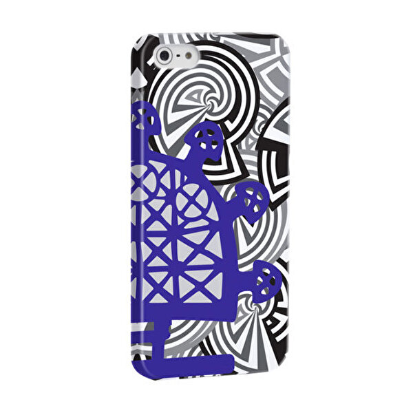 Picture of BiggDesign B.C. 3000 Sun Disk Blue iPhone 5 / 5S Cover