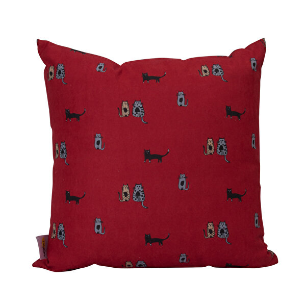 Picture of  Biggdesign Cats in Istanbul Red Pillow