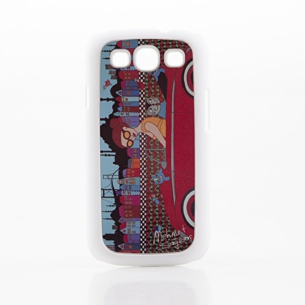 Picture of Biggdesign Galaxy S3 White Cover 057