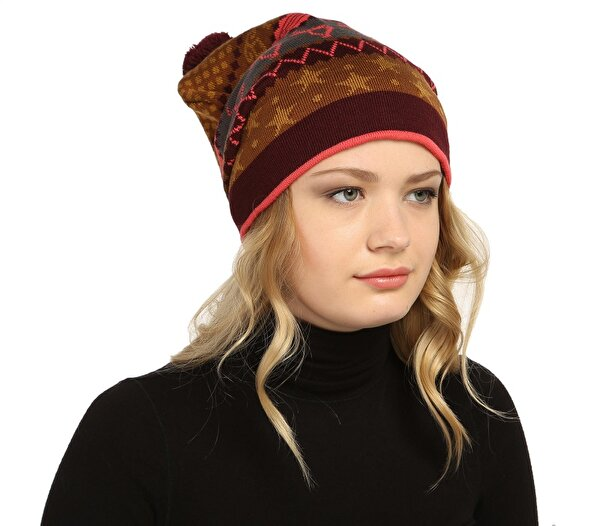 Picture of BiggDesign Deer Patterned Beret