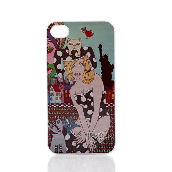 Picture of Biggdesign iPhone 4 White Cover 006
