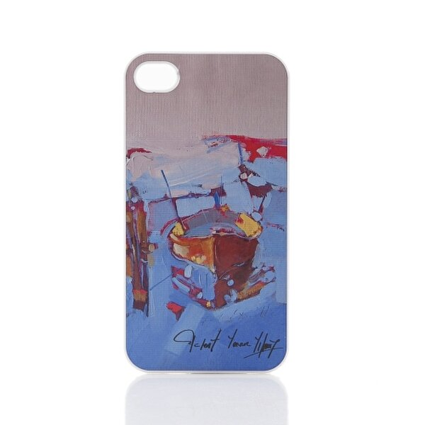 Picture of Biggdesign iPhone 4 White Cover 020