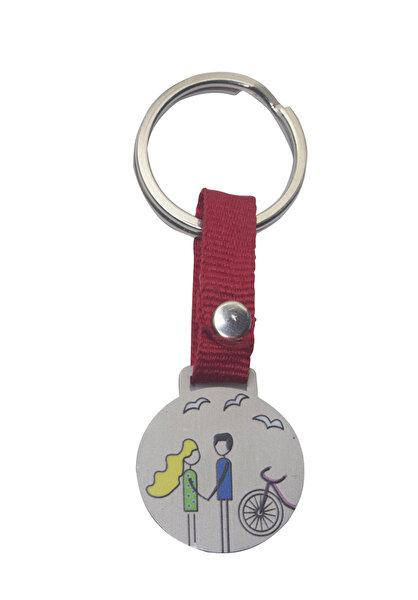 Picture of BiggDesign Lovers Keychain