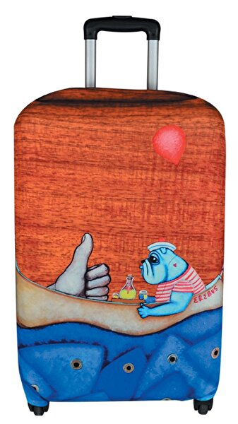 Picture of BiggDesign Mr. Allright Man Luggage Cover
