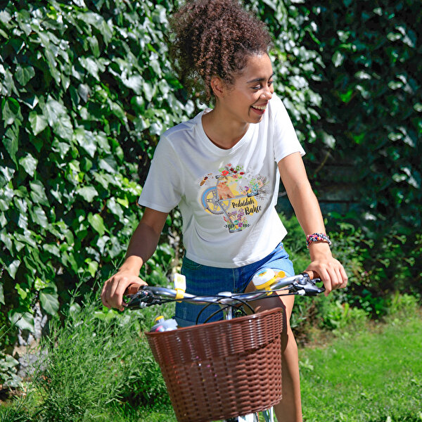 Picture of BiggDesign Nature Garden On The Pedal Woman T-Shirt