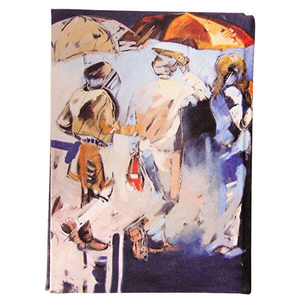 Picture of BiggDesign People with Umbrellas Notebook 14x20