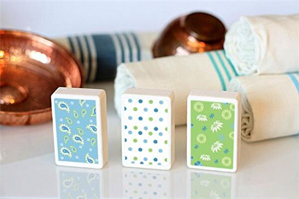 Picture of Bigghome Dots 3-Bar Soap Set
