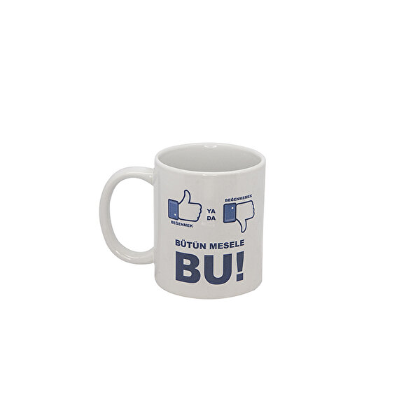 Picture of  Biggmug Like or Not Like Ceramic Mug Cup