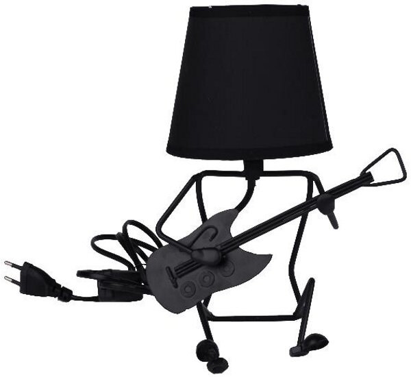 Picture of Equinoxe Guitar Table Lamp Black