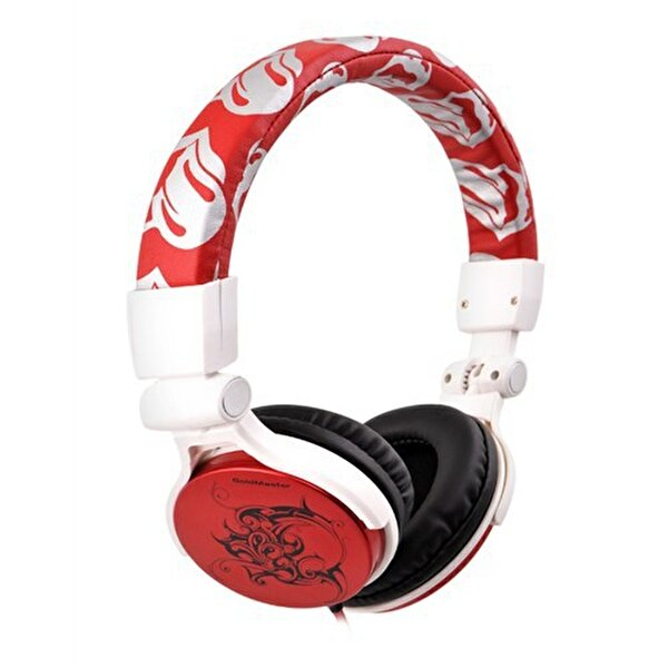 Picture of Goldmaster Hp-297 Over-ear Headphone Red