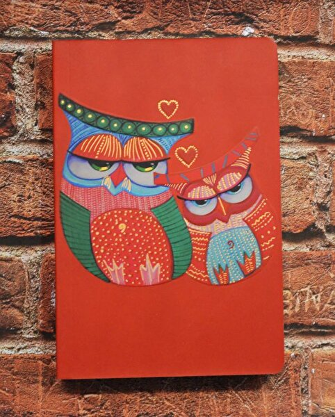 Picture of Monatitti Owls Small Size Notebook