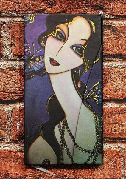 Picture of Monatitti Butterfly Woman Notebook