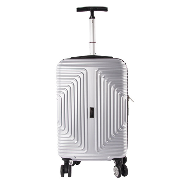 "Picture of  Nektar 20"" Silver Cabin Size Suitcase"