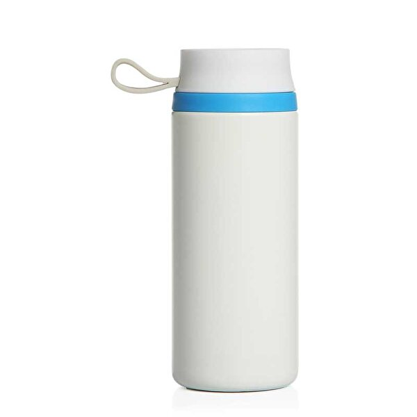 Picture of PF CONCEPT 10030800 Water Bottle White Blue