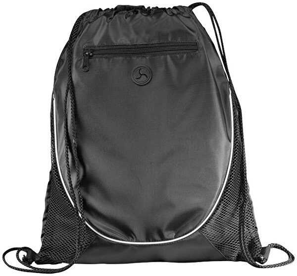 Picture of Pf Concept 12012000 Black Drawstring Backpack