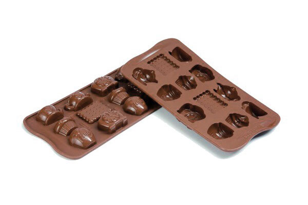 Picture of SILIKOMART Teatime Chocolate Mold