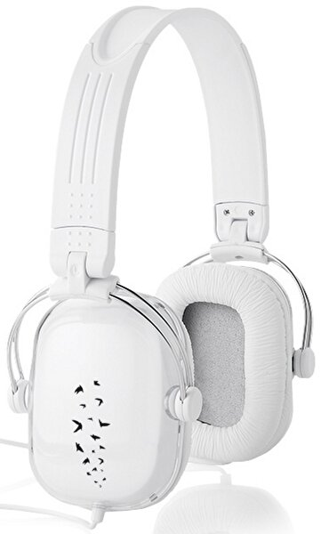 Picture of TK Collection 10816700 White Headphones