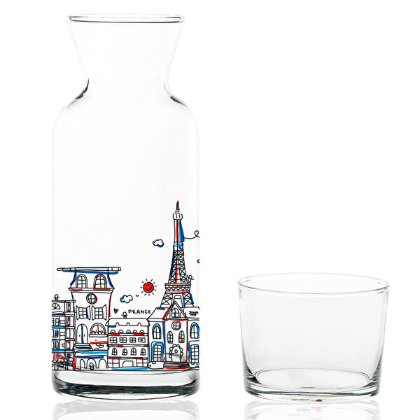 Picture of  TK Collection Paris Glass Decanter