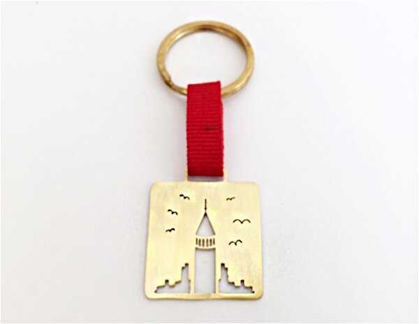 Picture of By Gulizar above Galata Keychain