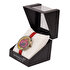 Picture of BiggDesign Pomegranate Leather Wrist Watch by Turkish Designer