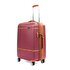 Picture of  Baggaj V209 ABS Medium Size Suitcase - Claret Red