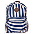 Picture of  Biggdesign AnemosS Navy Blue Striped Backpack