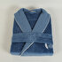 Picture of Ecocotton Ekin Dark Blue Men Bathrobe XLarge, 100% Organic Turkish Cotton