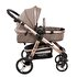 Picture of  Kraft Ace Travel System - Brown