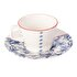 Picture of Porland Folksy Coffee Cup And Saucer 80 CC Set of 6 Pieces