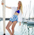 Picture of BiggDesign AnemoSS Aquarium Woman's Shorts