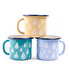 Picture of BiggDesign AnemoSS Orsa Enamel Mug - Turquoise