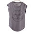 Picture of BiggYoga Namaste Gray T-Shirt - Size - S