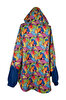 Biggdesign Fertility Fish Blue Raincoat