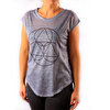 Picture of  BiggYoga Namaste Gri T-Shirt