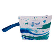 Picture of BiggDesign AnemosS Wave Pattern Multicolor Blue Make - Up Bag