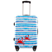 Picture of BiggDesignAnemoSS Crab Medium Size Suitcase 24""