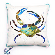 Picture of BiggDesignAnemoSS Green Crab Pillow