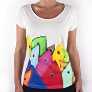 Picture of BiggDesignFertility Fish Women's T-Shirt